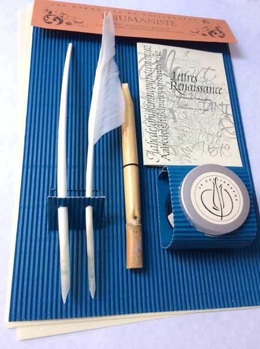 Kit Calligraphie Renaissance Le Calligraphe Hm104